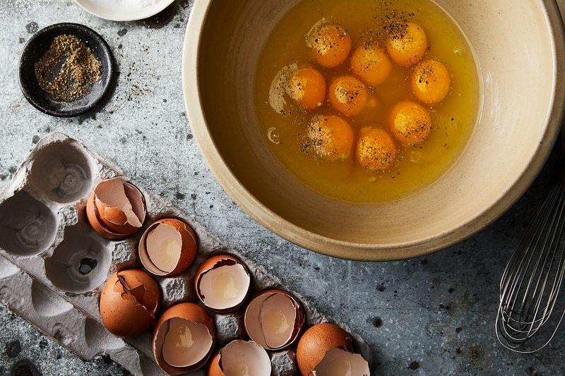 Season those eggs really, really well.