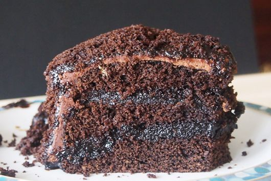 Carob Brooklyn Blackout Cake