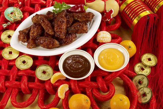 Sriracha Hoisin Wings