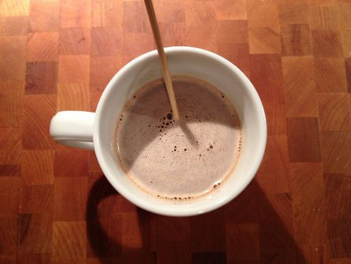 Tingling Truffle Hot Chocolate