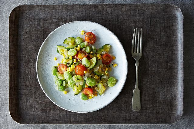 Vegan Summer Succotash from Food52