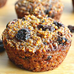 Quinoa Raisin Breakfast Bites