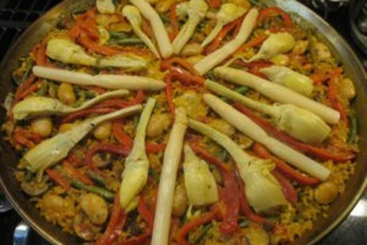 Vegetabel Paella