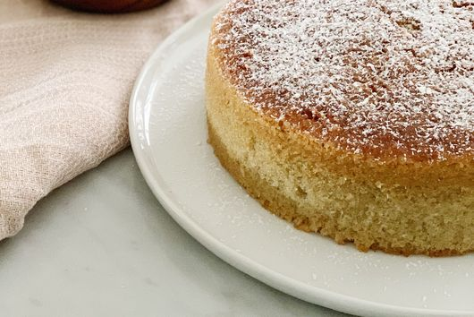 Maialino's Olive Oil Cake (with a coconut twist!!)