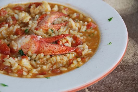 Creamy Lobster Risotto