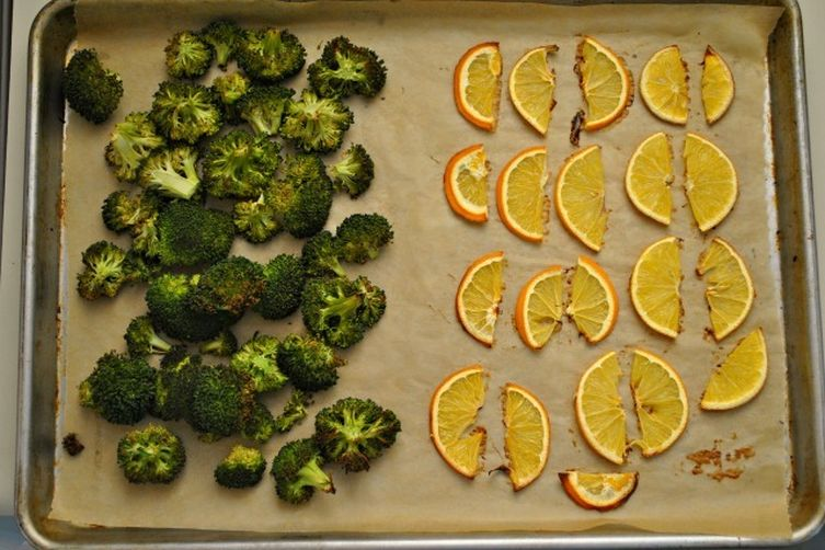 Autoimmune Paleo Roasted Broccoli and Citrus Salad
