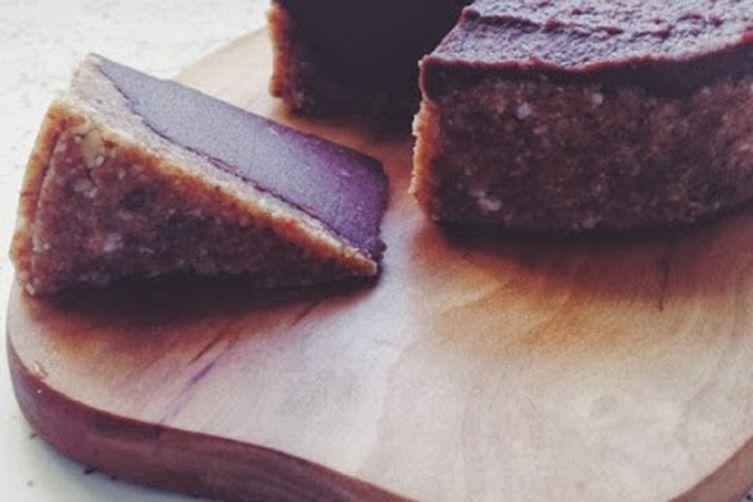 """Mini Raw Vegan Chocolate Walnut """"Cheesecake"""""""