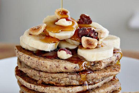 Cozy Banana Bread Pancakes