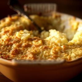 Celery Root and Potato Gratin