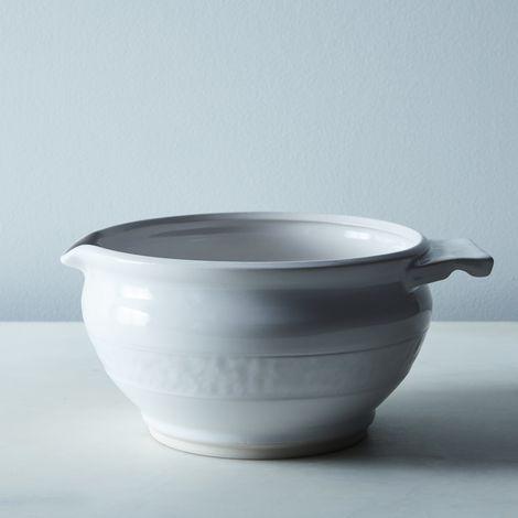 Handmade Textured Porcelain Pour Bowl