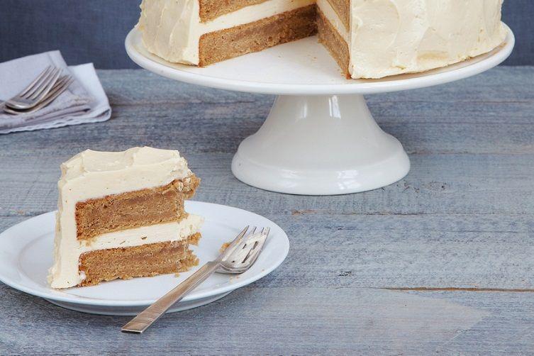 Milk Stout Cake with Malted Milk Buttercream