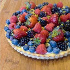 Summer Berry Tart