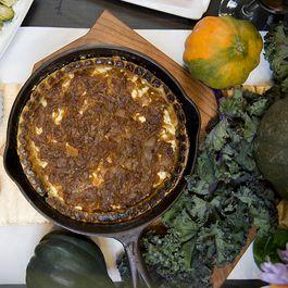 Caramelized Onion and CrazyFeta Tart