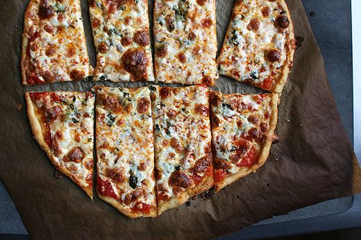 Cracker Crust Pizza