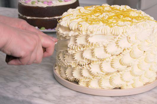 Lemon Chiffon Layer Cake