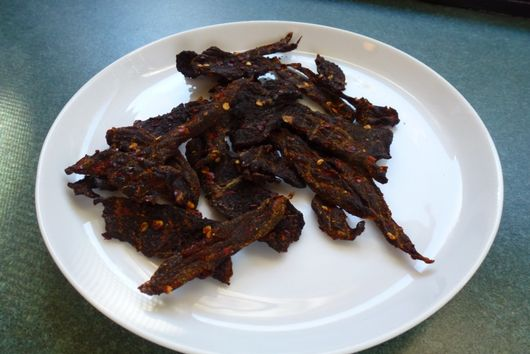 "Duck Jerky a la Kate Hill of ""Camont"""