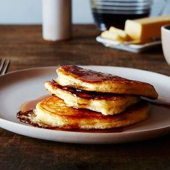 The Kitchn's Lofty Buttermilk Pancakes