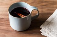 Honey-Pomegranate Mulled Wine