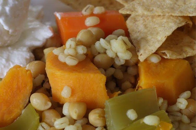 Garlicky Vegetarian Stew