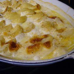 Potato Gratin, in the Style of Simon Hopkinson
