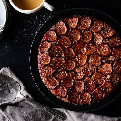 Fig Upside-Down Cake