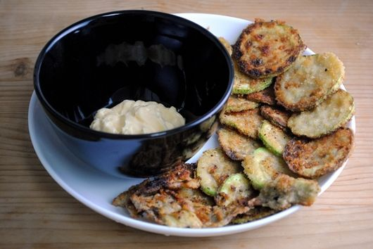 Spring Vegetable Fritters with Homemade Mayonnaise
