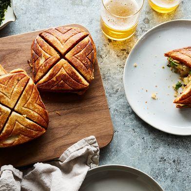 Potato-Curry Sandwich