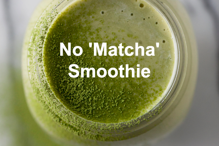 NO 'MATCHA' SMOOTHIE: THE PRETTY FEED