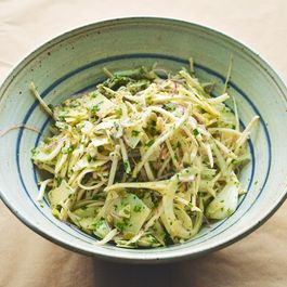 A Winter Salad of Fennel, Celery Root, Lemon, and Pecorino