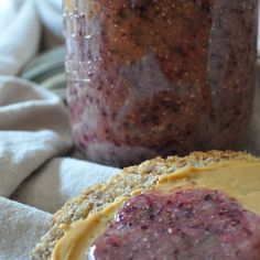 Blueberry Orange Chia Seed Jam