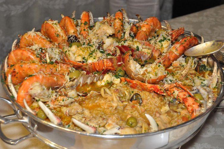 Carol's Seafood Paella