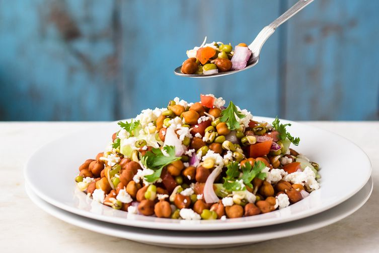 Tomato Chaat Masala Salad