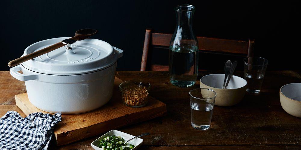 White Staub Cookware