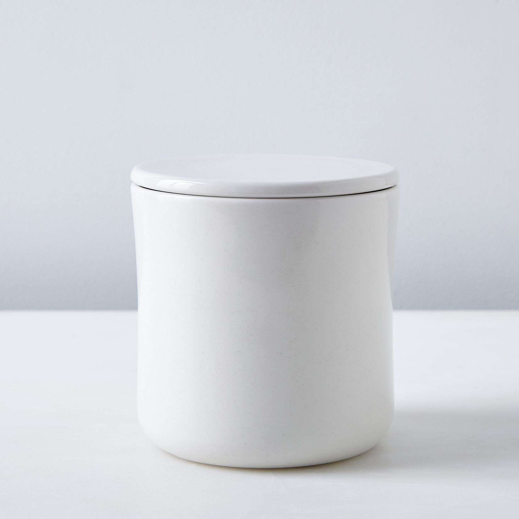 porcelain coffee tea canister on food52