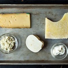 One Half-Eaten Holiday Party Cheese Plate, 5 Dinners