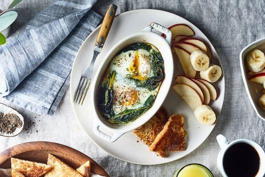 Shirred Eggs