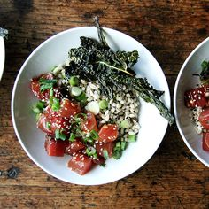 A New Way to Poke: Swap Seaweed for This Dark, Leafy Green