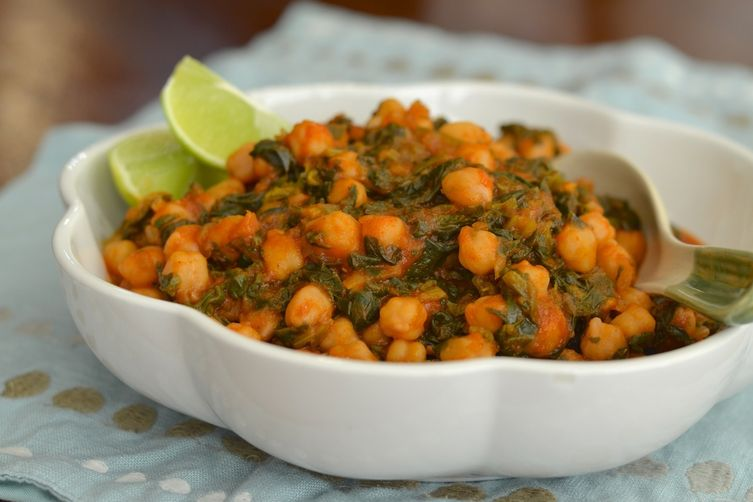 Espinacas con Garbanzos/Spinach and Garbanzos