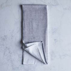 Two-Tone Chambray Japanese Bath Towels