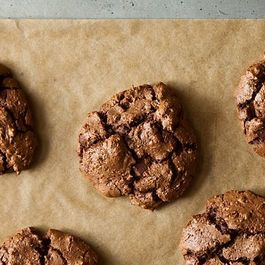 Triple Chocolate Espresso Cookies