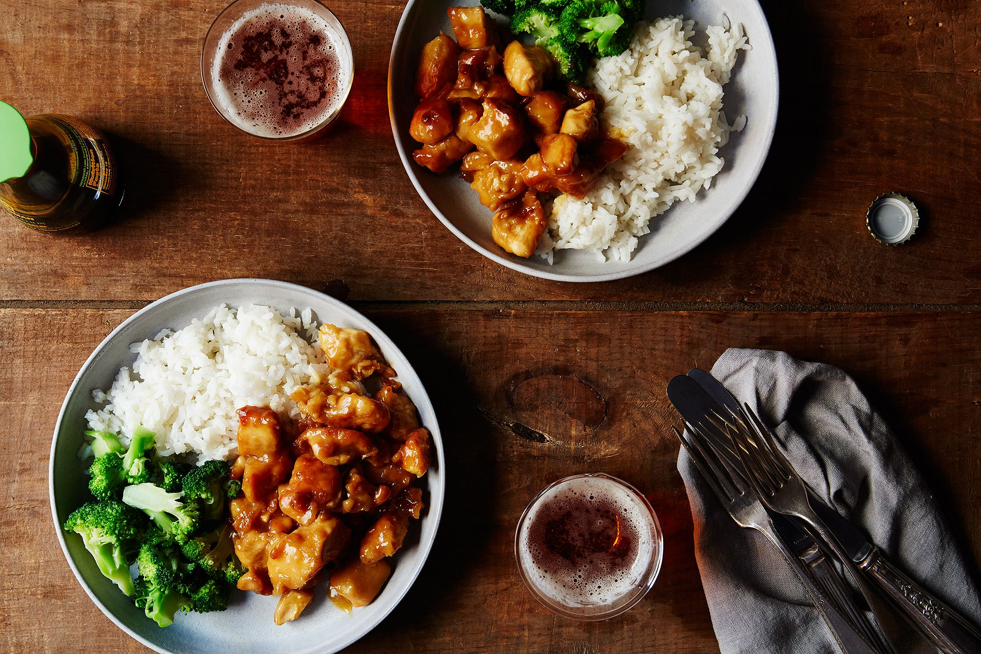 Homemade takeout panda express style orange chicken recipe for What makes a kitchen kosher