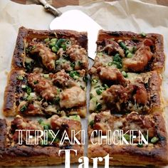 Teriyaki Chicken Tart