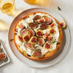 Ricotta-Rosemary Cake With Fresh Figs