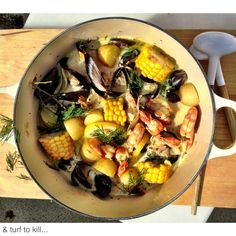 One-Pot Surf and Turf