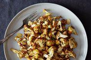 Roasted, Spiced, Almond-y Cauliflower