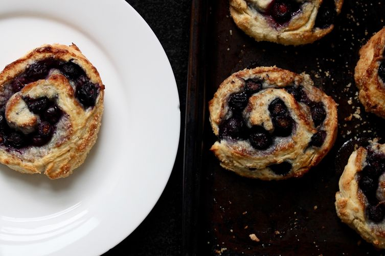 Blueberry Biscuit Rolls