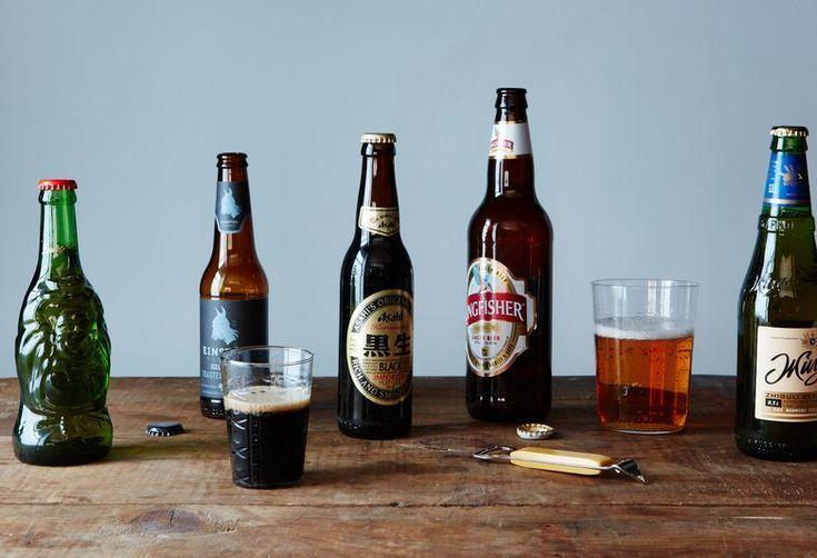 Beer, baby.