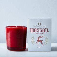 Wassail Yuletide Candle & Match Striker