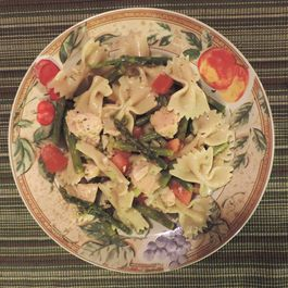 Italian Lemon Chicken Bowtie Pasta Salad