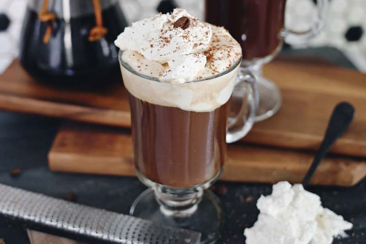 American Q's Bourbon + Bacon Hot Chocolate
